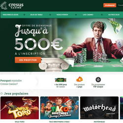 Avis Cresus Casino par Baccara.bet