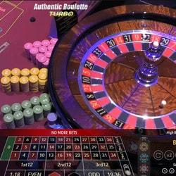 Roulette en ligne Authentic Roulette Turbo