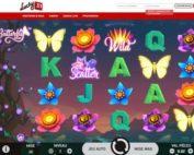 Machine a sous Butterfly Staxx de Netent disponible sur Lucky31 Casino