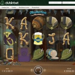 Machine à sous Oktoberfest de NoLimit City sur Dublinbet