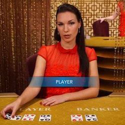 Speed Baccarat, table de baccarat en ligne Evolution Gaming