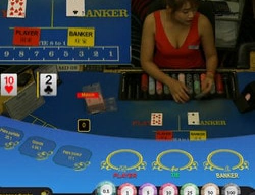 Baccarat en ligne Ezugi en direct du Queenco Casino du Cambodge