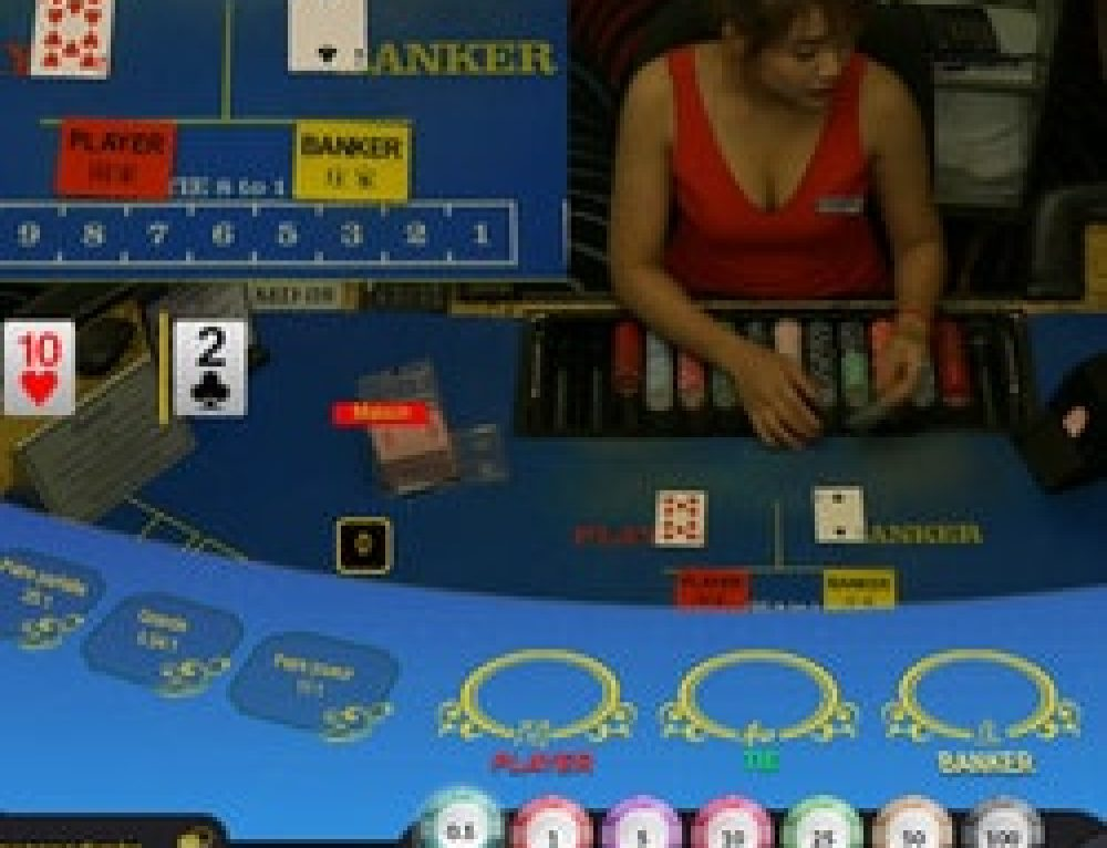 Baccarat en ligne Ezugi en direct du Queenco Casino du Cambodge