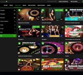 Avis sur MrXbet, jeux et tables en live par Baccarat.Bet