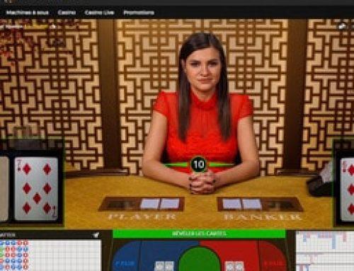 Jouez au Baccarat Control Squeeze sur Casino Extra