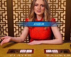 9 tables de baccarat en ligne Evolution Gaming sur Stakes Casino