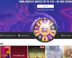 Jeux en live Evolution Gaming sur le casino Hard Rock Casino Atlantic City