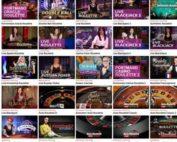 Jeux en live de 9 logiciels avec croupiers en direct sur Lucky31 Casino