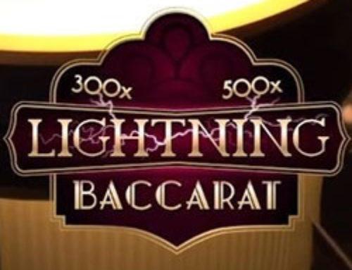 Evolution Gaming annonce Lightning Baccarat