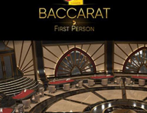 First Person Baccarat et les deux autres nouvelles tables de cette même gamme sur Lucky31