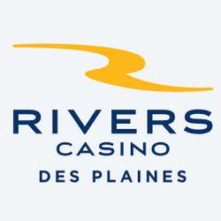 Un homme vole des jetons de baccarat au Rivers Casino des Plaines dans l'Illinois